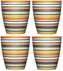 Iittala Origo Beker 0,25l - 4 Stuks - Oranje