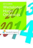 Wetteksten hoger onderwijs  / 2013-2014