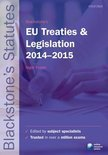 Blackstone's EU Treaties & Legislation 2014-2015
