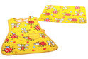 Cosy&Trendy for kids Kinderschort - 60 cm x 44 cm - + Placemat - 26 cm x 36 cm - Geel