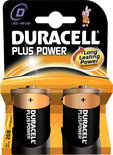 Duracell Plus Power 2xD