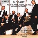 Mozart: Music for Piano and Wind Quintet / Hough, Berlin Philharmonic Winds
