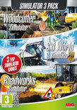 Simulatie Pack - Woodcutter Simulator + Ski World Simulator + Roadworks Simulator