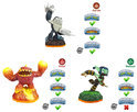 Skylanders Giants Adventure Pack Eruptor, Stealth Elf, Terrafin Wii + Wii U + PS3 + Xbox 360 + 3DS