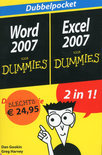 Dubbelpocket  Word 2007, Excel 2007 voor dummies