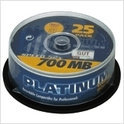 Platinum CD-R 700 MB 25er CakeBox