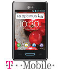 LG Optimus L3 II - Grijs - T-Mobile prepaid telefoon