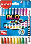 Color'Peps viltstift Duo - in kartonnen doos x 10