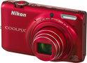 Nikon Coolpix S6500 - Rood