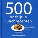 500 ontbijt- en lunchrecepten