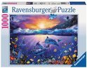 Ravensburger Dolfijnen in het paradijs - Puzzel - 1000 stukjes