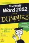 Microsoft Word 2002 voor Dummies