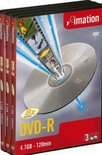 Imation DVD-R 120min/4,7GB 10 stuks in jewelcase