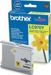 Brother LC-970Y - Inktcartridge / Geel
