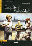 Enquete A Saint-Malo - Book & Cd