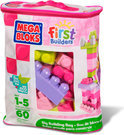 Mega Bloks First Builders Blokkentas - Roze