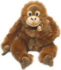 WWF Orang Utan, moeder en kind. 25 cm