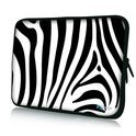 Sleevy 15,6 inch laptophoes zebra print