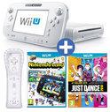 Nintendo Wii U 8GB Premium Bundel Wit + Just Dance 2014 + NintendoLand + 1 Wii Controller