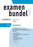 Examenbundel havo  / Geschiedenis 2012/2013