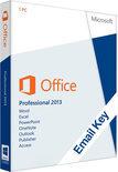 Microsoft Office Microsoft Office Professional 2013 | OEM | 32/64 bits | Download + Licentie | Installatietaal naar keuze