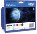 Brother LC-1280XLVALBP Inktcartridge - 4 Kleuren