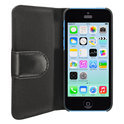 SeeJacket Leather iPhone 5C black