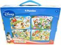 Disney Mickey Mouse puzzels set van vier