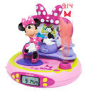 Minnie Mouse BowTique Wekker Projector met Radio