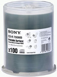 Sony CD-R 700MB Thermal printable 100 stuks