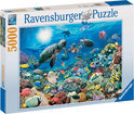 Ravensburger Puzzel - Leven In Het Koraalrif