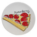 Blond Amsterdam Strawberry Bord - Ø 18 cm