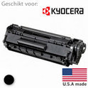 Remanufactured toner, vervanger voor de Kyocera (TK-120 XL) Toner Cartridge zwart 14000 pagina's