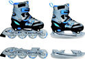 Inline Skates Combo Blauw - Maat 38-41