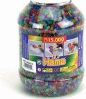 Strijkkralen 15000- Delig Glitter Hama