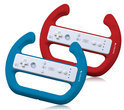 Playfect 2x Race Stuur Zwart + Rood Wii