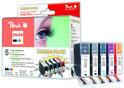 Peach PGI-5/CLI-8 Voordeelverpakking