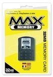 Max Memory Card - 16 MB & 10 Retro Games