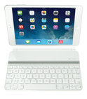 Ultrathin keyboard cover Mini for iPad Mini White French layout