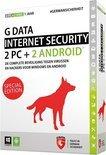 G Data Internet Security 2015 - Nederlands / Special Edition / 1 Gebruiker / 1 Jaar / 4 Apparaten / Productcode zonder DVD