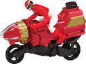 Power Rangers - Moto MegaForce Ranger - Rood