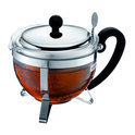 Bodum Chambord - Theepot met filter - RVS deksel - 8 kops - 1.0 l