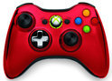 Microsoft Xbox 360 Draadloze Controller Chroom Rood - Limited Edition