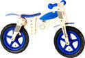 Houten Loopfiets Blauw