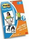 Post-It Fotopapier Sticky 10x15cm (20 vel + 5 gratis) mat