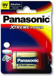 Panasonic 9v Blok-Alkali 'Xtreme Power'