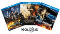 3D Blu-ray Triple pack