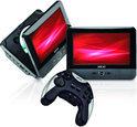 Akai APD712TG - Portable DVD-speler met spelletjes en 2 schermen - 7 inch