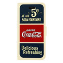 Coca-Cola Booklet Case Old 5cents, iPhone 5c