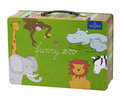 Villeroy & Boch Funny Zoo - Set met Metalen Koffer 7-delig